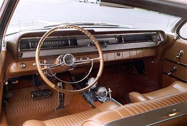 Ed Raden's 1962 Grand Prix, interior