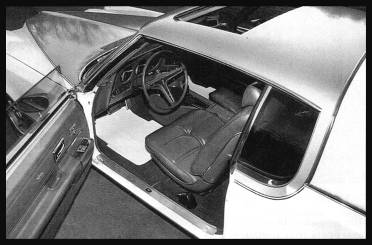 1972 Hurst SSJ Grand Prix, interior