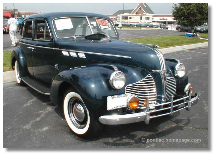 Rich 39 s pontiac server nebraskaland pontiac gmc oakland show for 1940 pontiac 2 door sedan